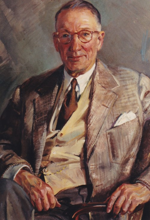 Portrait of Walter A. Bloedorn